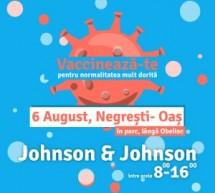 Un nou Maraton de Vaccinare la Negrești-Oaș