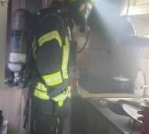 Incendiu produs în Satu Mare la un apartament