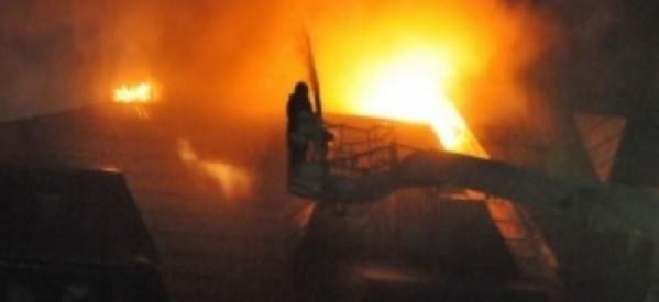 Incendiu la acoperișul unei case din cartierul Sătmărel