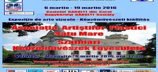 Duminică se va deschide expoziția de arte vizuale la Carei