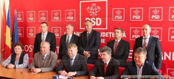 PSD și-a prezentat candidații pentru Consiliul Județean