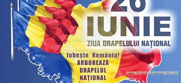 Programul zilei de 26 iunie –  Ziua Drapelului