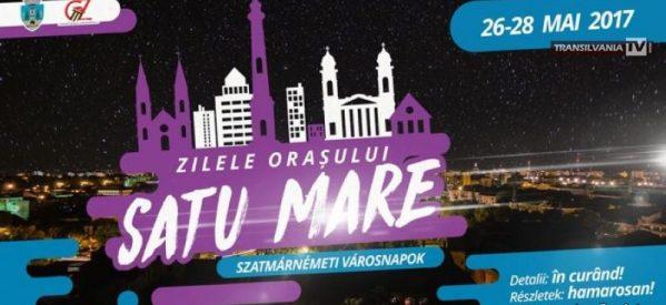 Zilele Orașului vor avea loc între 26 și 28 Mai