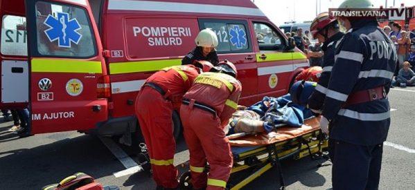 Minori răniți grav în urma unui accident rutier