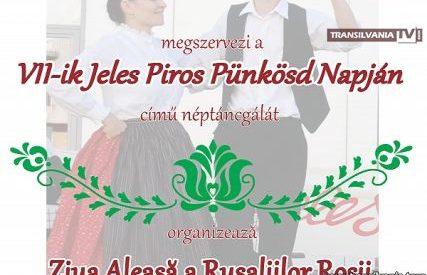 """Festivalul Folcloric """"Rusaliile Rosii"""""""