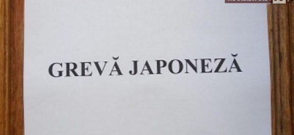Grevă japoneză la Prefectură