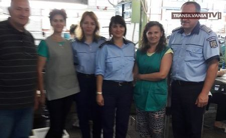 Polițiștii au desfășurat activități preventiv-educative pe linia violenței domestice la Tășand