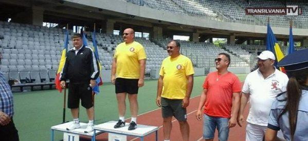 Pompierul sătmărean Radu Pop, aur la atletism și cros