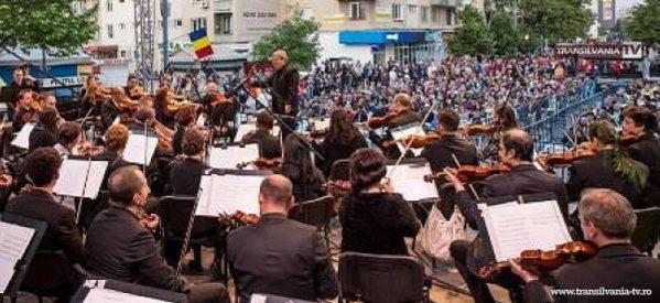 Filarmonica susține un concert simfonic în aer liber