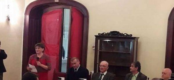 Profesorul Ioan Ciarnău a lansat monografia satului Dindeștiul Mic