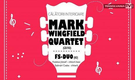 Mark Wingfield și FS-Duo susțin un concert de chitară acustică la Sinagoga Mare