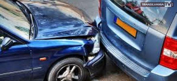 O oșancă și-a văzut de drum după ce a provocat un accident rutier