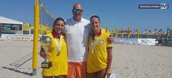 Sătmărencele Beata Vajda și Adriana Matei sunt campioane naționale la volei pe plajă