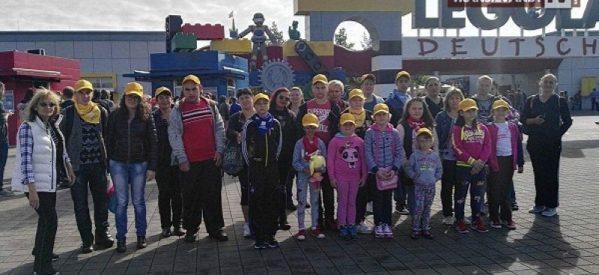 Excursie de vis a familiilor Raza Speranţei în Legoland