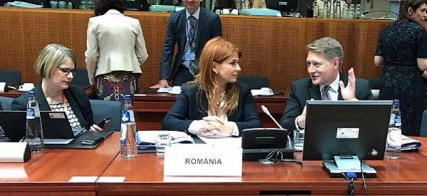 Ministrul Ioana Bran la Reuniunea Consiliului pentru Tineret de la Bruxelles
