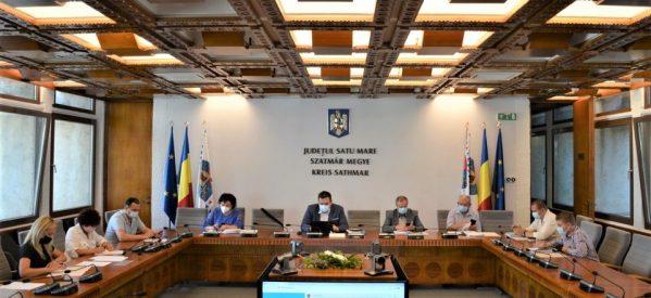 Consilierii județeni sătmăreni au aprobat proiectul de rectificare a bugetului general pe anul 2020