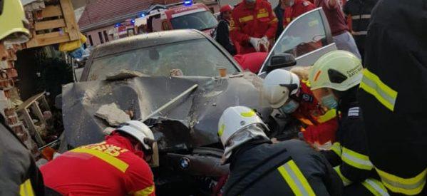 Accident grav produs în Satu Mare