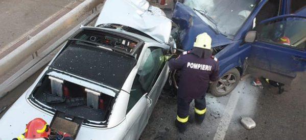 Accident în Satu Mare