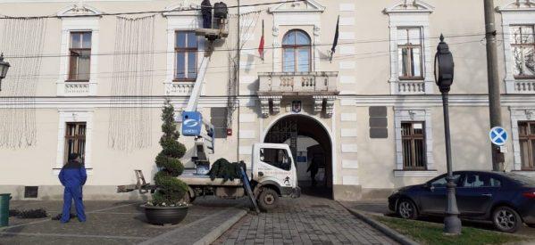 Careiul va avea iluminat ornamental cu ocazia sărbătorilor de iarnă