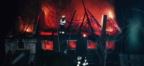 Incendiu la casa de locuit din localitatea Prilog Vii