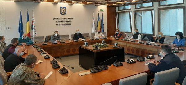 Autoritățile au analizat situația din județul Satu Mare