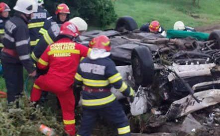 Accident rutier în Berveni